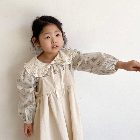 O'AHU - BRAND - Korean Children Fashion - #Kfashion4kids - Nelly Apron One-piece