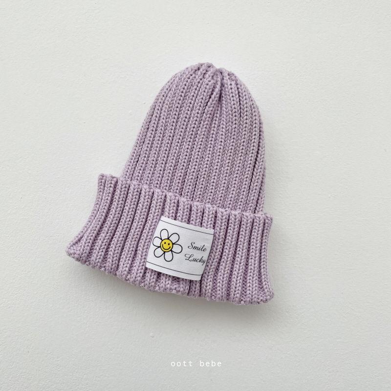 OOTT BEBE - Korean Children Fashion - #Kfashion4kids - Daisy Beanie - 6