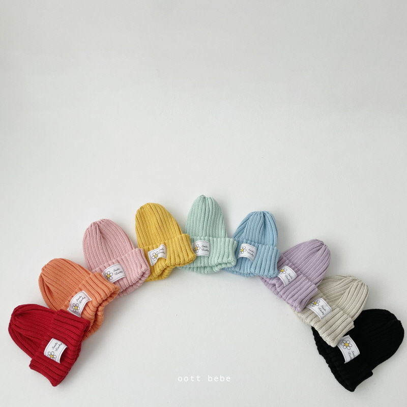 OOTT BEBE - BRAND - Korean Children Fashion - #Kfashion4kids - Daisy Beanie