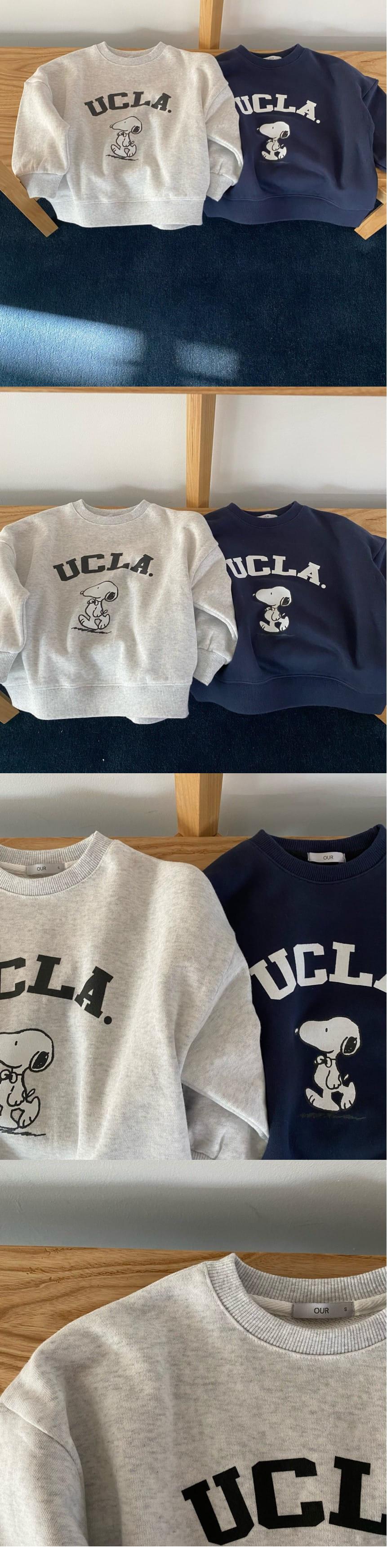 OUR - Korean Children Fashion - #Kfashion4kids - UCLA Sweatshirt - 2