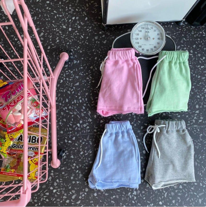OUR - Korean Children Fashion - #Kfashion4kids - Lollie Terry Pants - 2