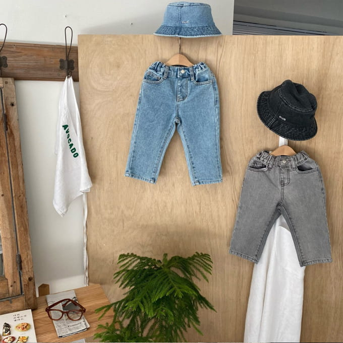 OUR - BRAND - Korean Children Fashion - #Kfashion4kids - 21 Freddy Denim Pants