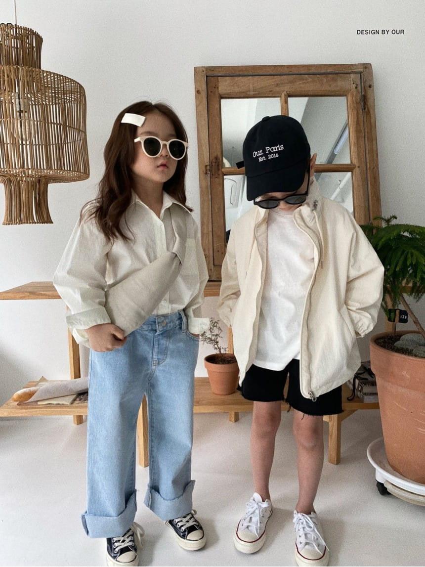 OUR - Korean Children Fashion - #Kfashion4kids - Paris Ball Cap - 2