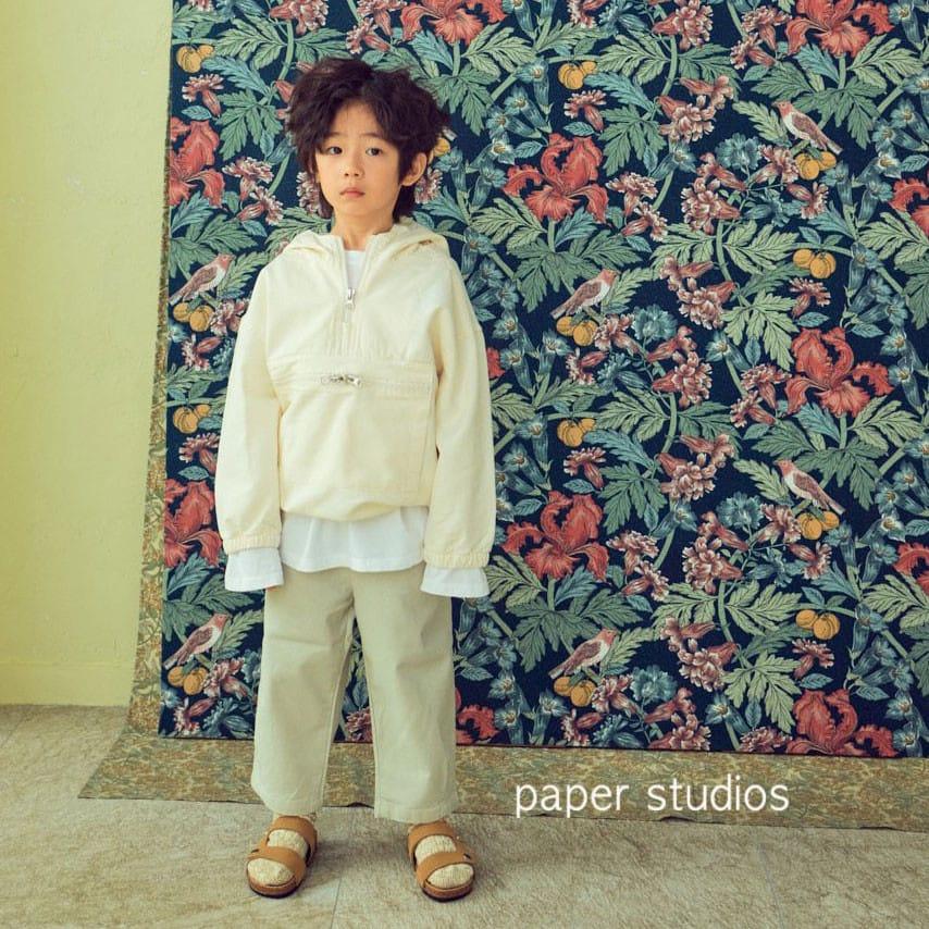 PAPER STUDIOS - Korean Children Fashion - #Kfashion4kids - Acnea Zip-up Top - 2