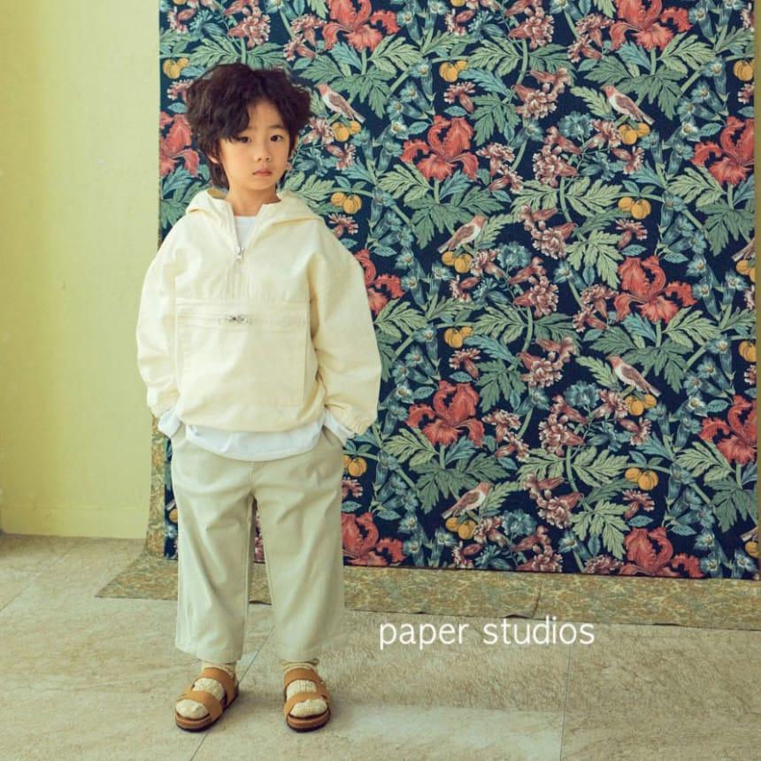 PAPER STUDIOS - Korean Children Fashion - #Kfashion4kids - Acnea Zip-up Top - 4