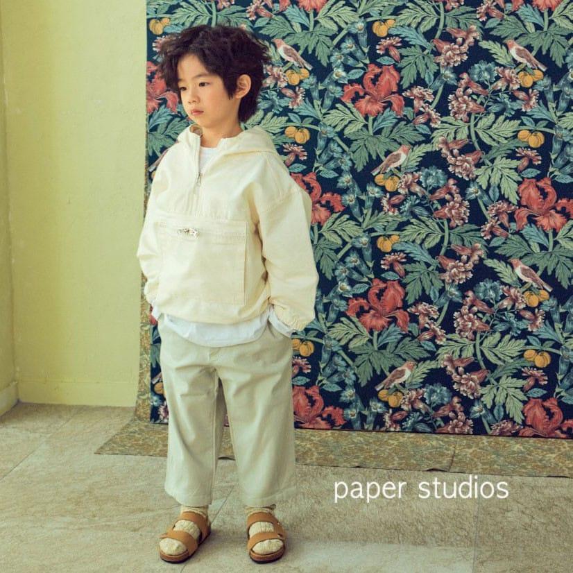 PAPER STUDIOS - Korean Children Fashion - #Kfashion4kids - Acnea Zip-up Top - 5