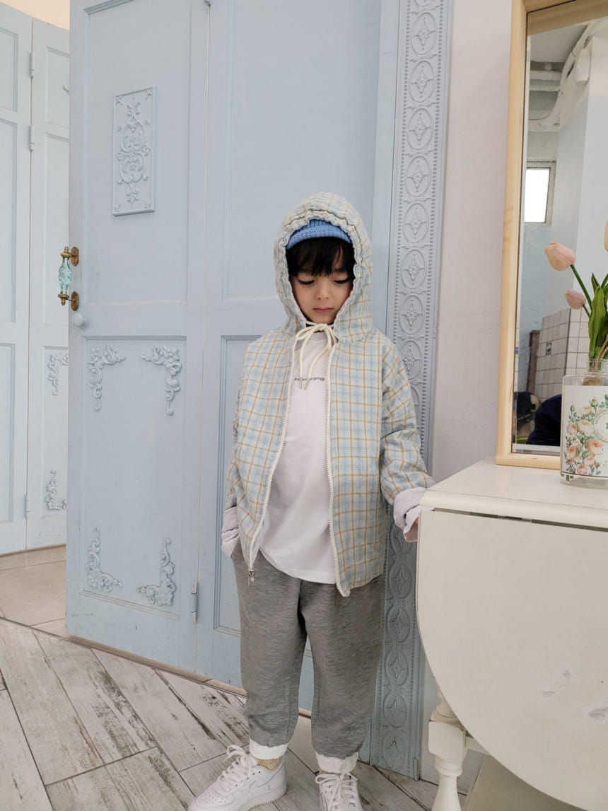 PAPER STUDIOS - Korean Children Fashion - #Kfashion4kids - Mael Reversible Hoody Jacket - 2