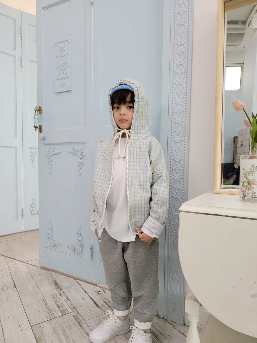 PAPER STUDIOS - Korean Children Fashion - #Kfashion4kids - Mael Reversible Hoody Jacket - 3