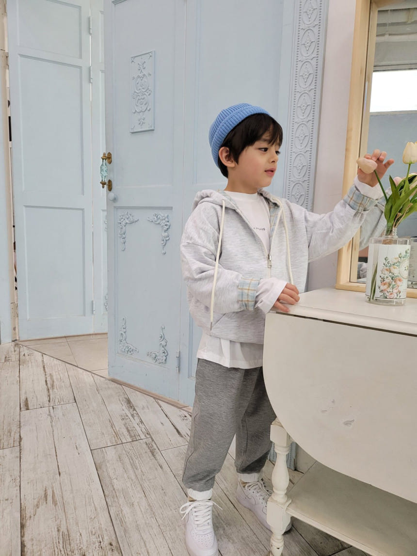 PAPER STUDIOS - Korean Children Fashion - #Kfashion4kids - Mael Reversible Hoody Jacket - 6