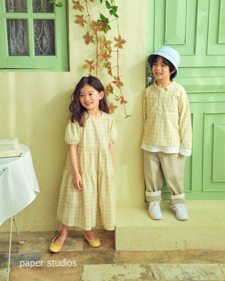 PAPER STUDIOS - Korean Children Fashion - #Kfashion4kids - Emel One-piece