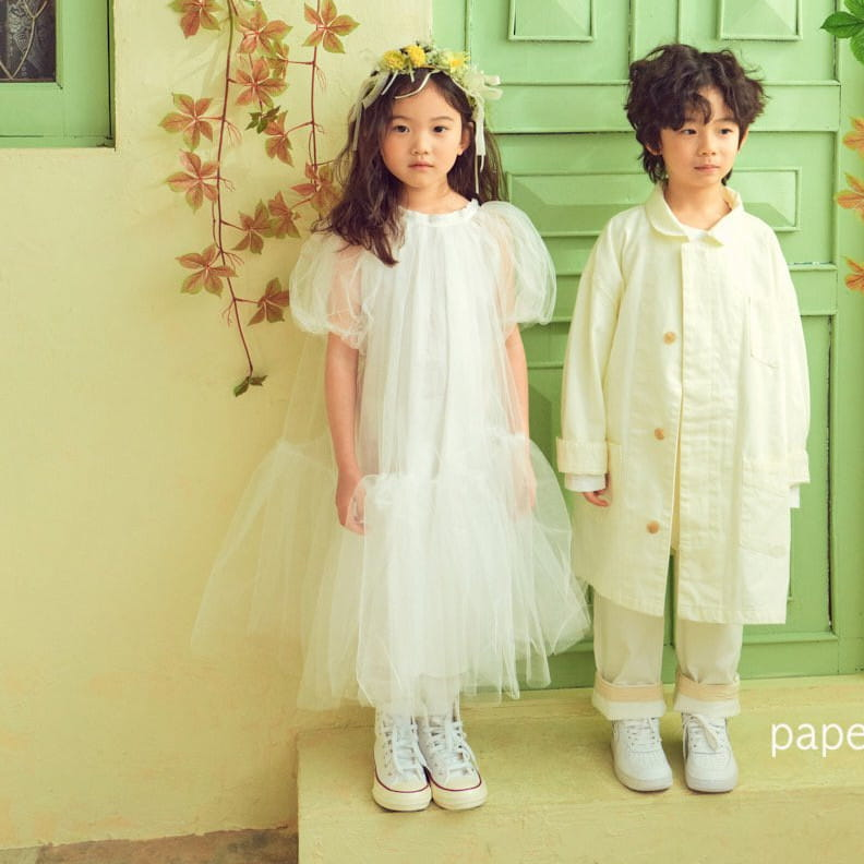 PAPER STUDIOS - Korean Children Fashion - #Kfashion4kids - Lena Cha Dress