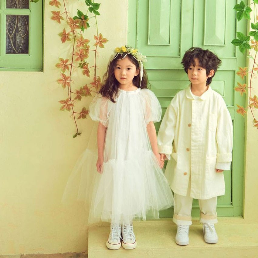 PAPER STUDIOS - Korean Children Fashion - #Kfashion4kids - Lena Cha Dress - 2