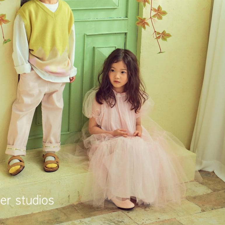 PAPER STUDIOS - Korean Children Fashion - #Kfashion4kids - Lena Cha Dress - 4