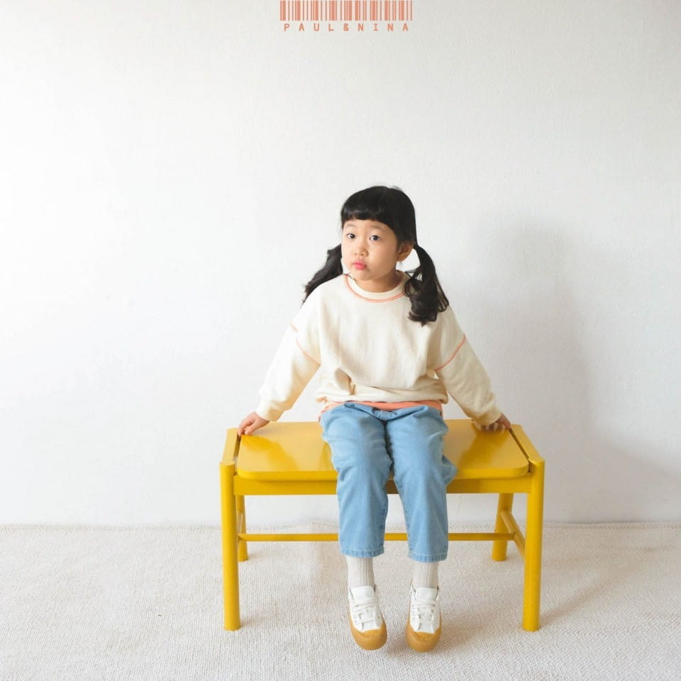 PAUL & NINA - Korean Children Fashion - #Kfashion4kids - Don't Ask Baggy Denim Pants - 4
