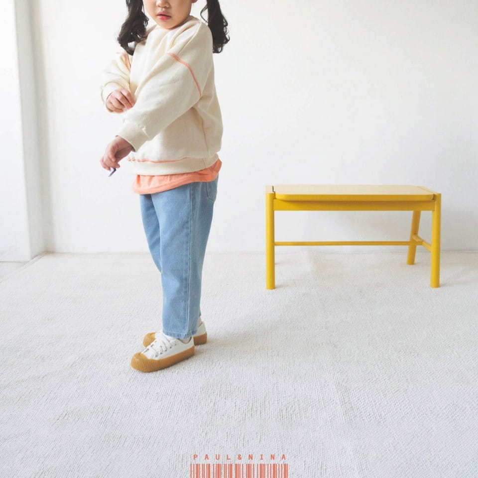 PAUL & NINA - Korean Children Fashion - #Kfashion4kids - Don't Ask Baggy Denim Pants - 7