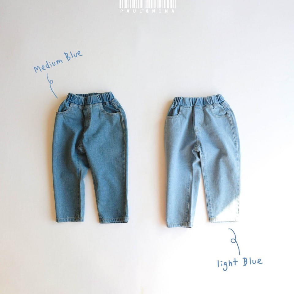 PAUL & NINA - Korean Children Fashion - #Kfashion4kids - Don't Ask Baggy Denim Pants - 8