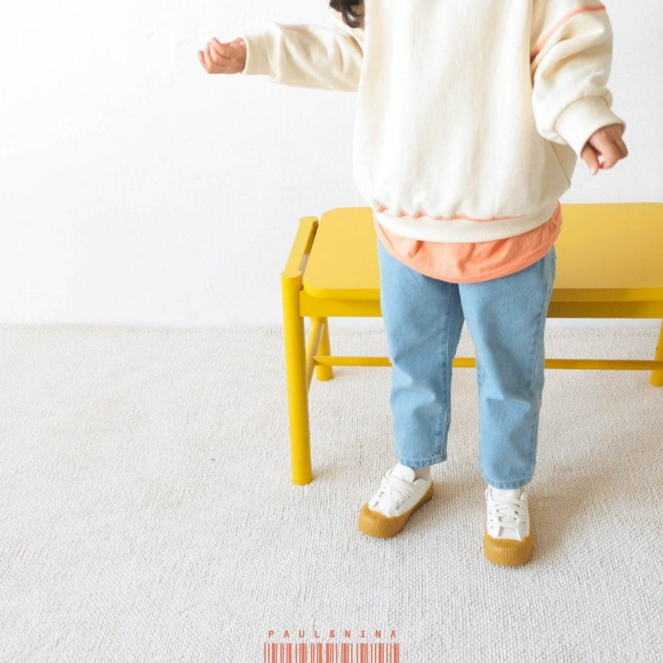 PAUL & NINA - Korean Children Fashion - #Kfashion4kids - Don't Ask Baggy Denim Pants - 9
