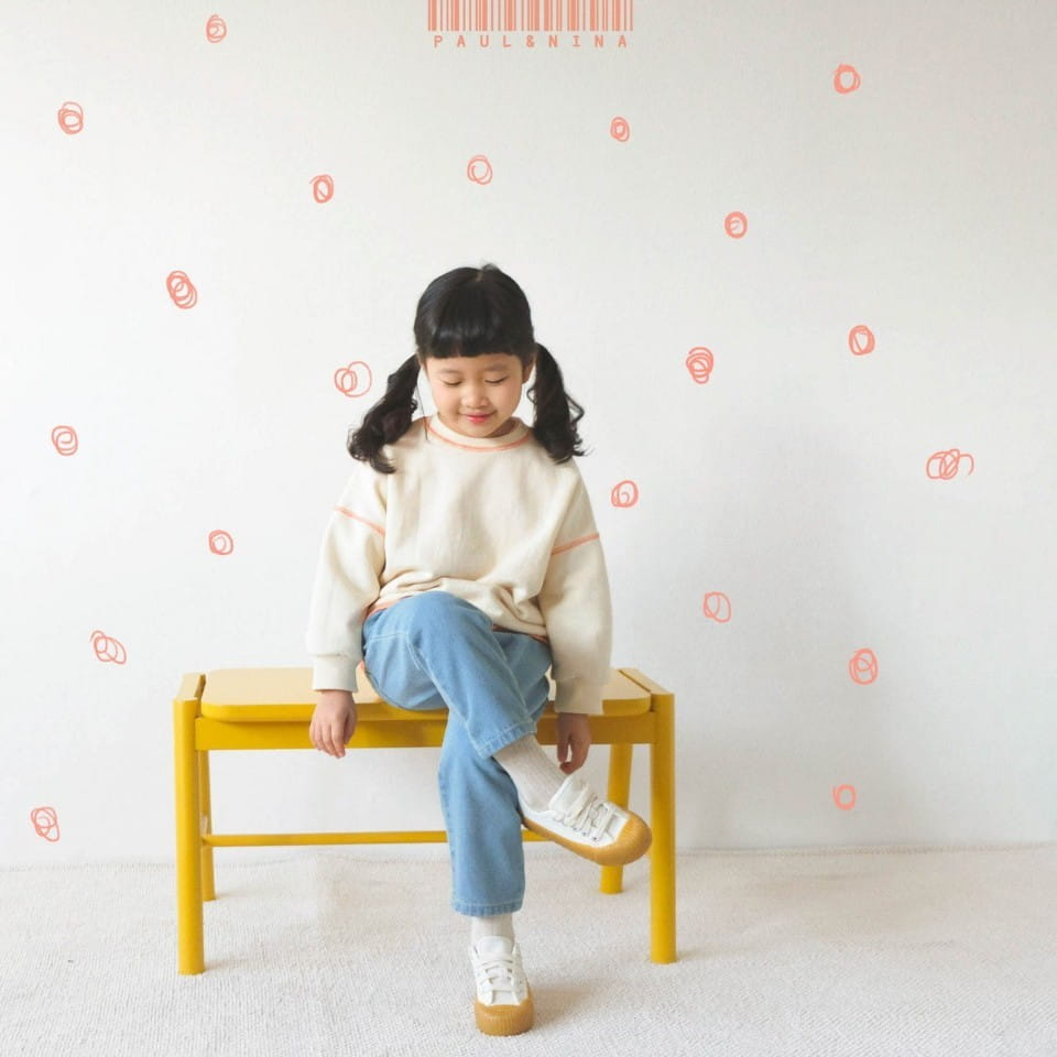 PAUL & NINA - BRAND - Korean Children Fashion - #Kfashion4kids - Don't Ask Baggy Denim Pants