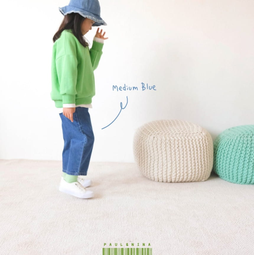 PAUL & NINA - Korean Children Fashion - #Kfashion4kids - 600 Gift Denim Pants