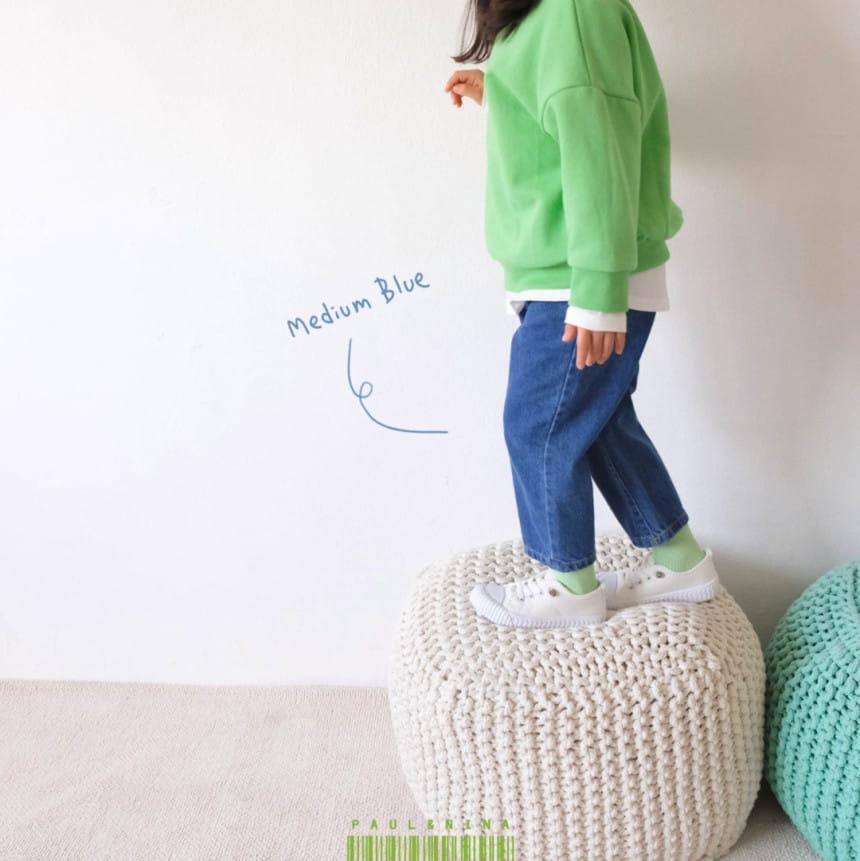 PAUL & NINA - Korean Children Fashion - #Kfashion4kids - 600 Gift Denim Pants - 3