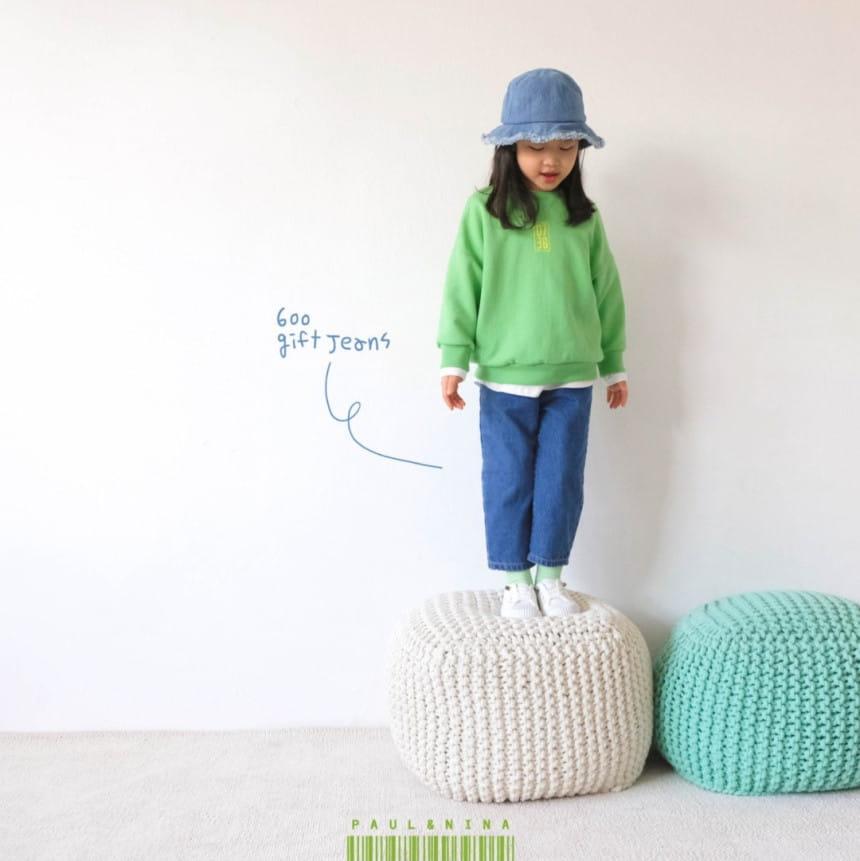 PAUL & NINA - Korean Children Fashion - #Kfashion4kids - 600 Gift Denim Pants - 4