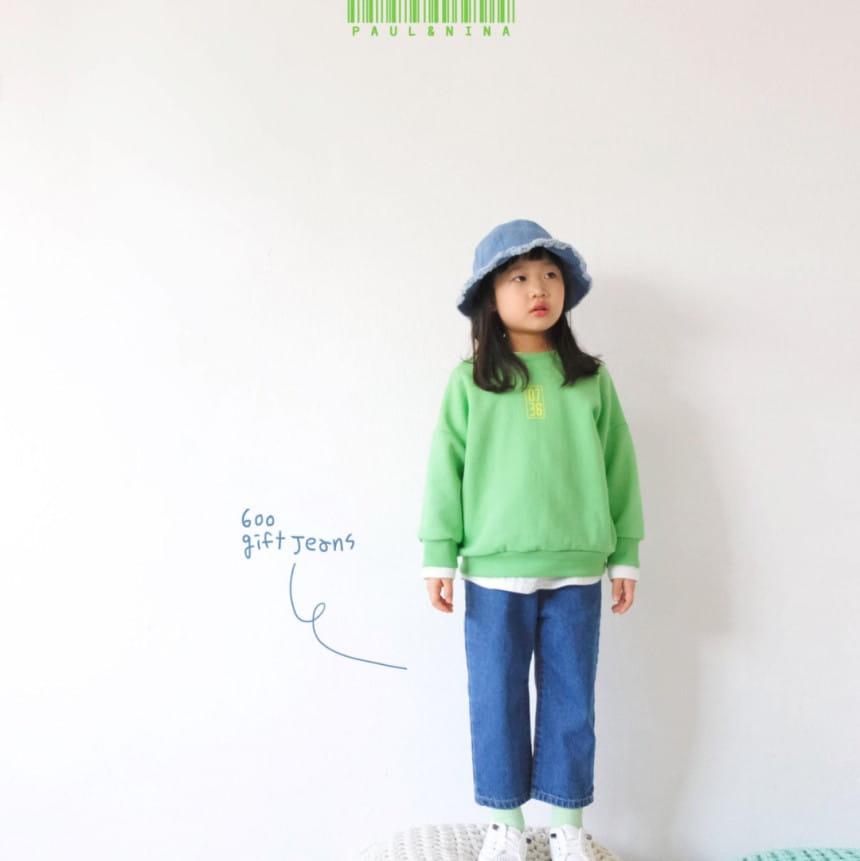 PAUL & NINA - Korean Children Fashion - #Kfashion4kids - 600 Gift Denim Pants - 5