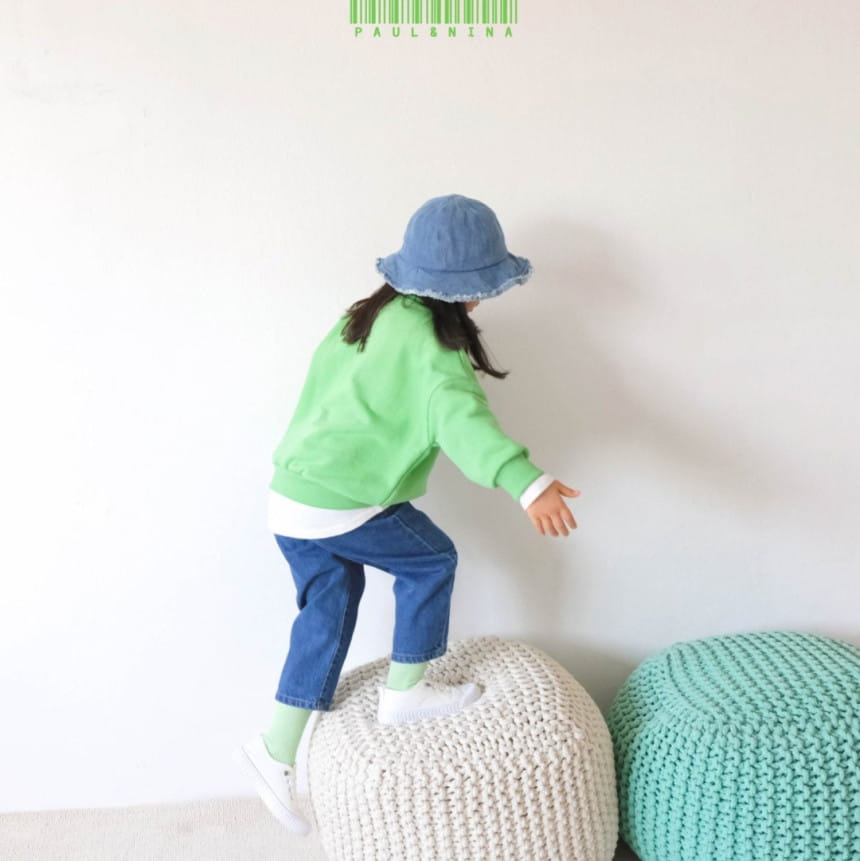 PAUL & NINA - Korean Children Fashion - #Kfashion4kids - 600 Gift Denim Pants - 6