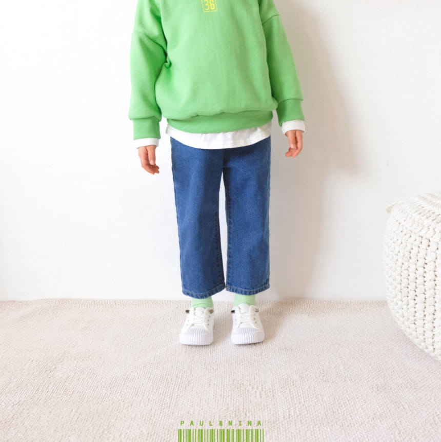 PAUL & NINA - BRAND - Korean Children Fashion - #Kfashion4kids - 600 Gift Denim Pants
