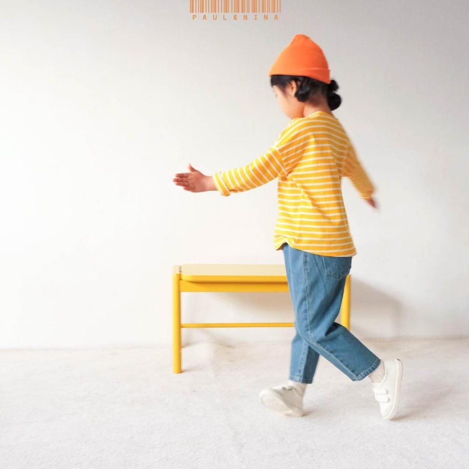 PAUL & NINA - Korean Children Fashion - #Kfashion4kids - Pretty Stripes Tee - 2