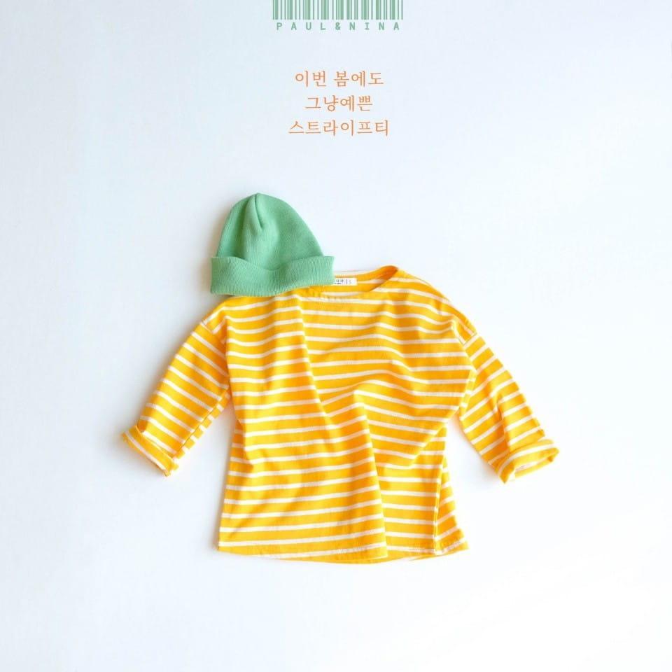 PAUL & NINA - Korean Children Fashion - #Kfashion4kids - Pretty Stripes Tee - 3