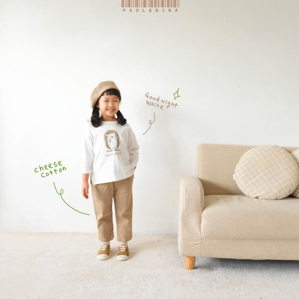 PAUL & NINA - Korean Children Fashion - #Kfashion4kids - Good Night Tee