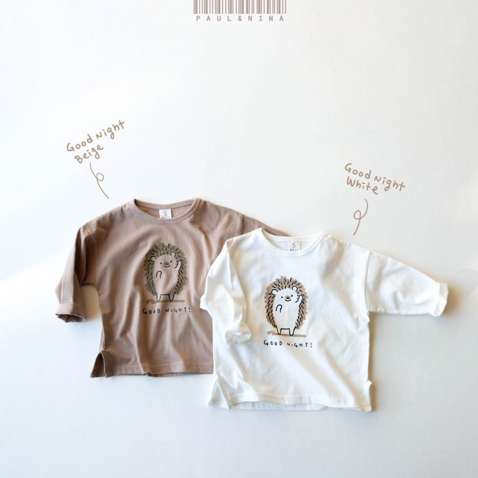 PAUL & NINA - Korean Children Fashion - #Kfashion4kids - Good Night Tee - 12