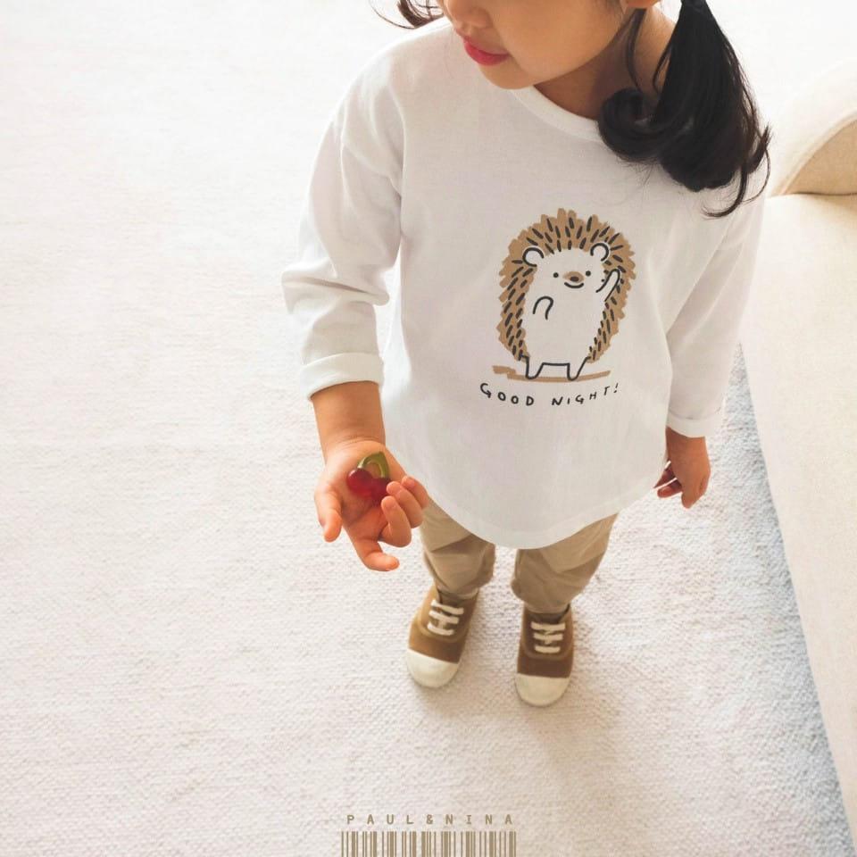 PAUL & NINA - Korean Children Fashion - #Kfashion4kids - Good Night Tee - 2