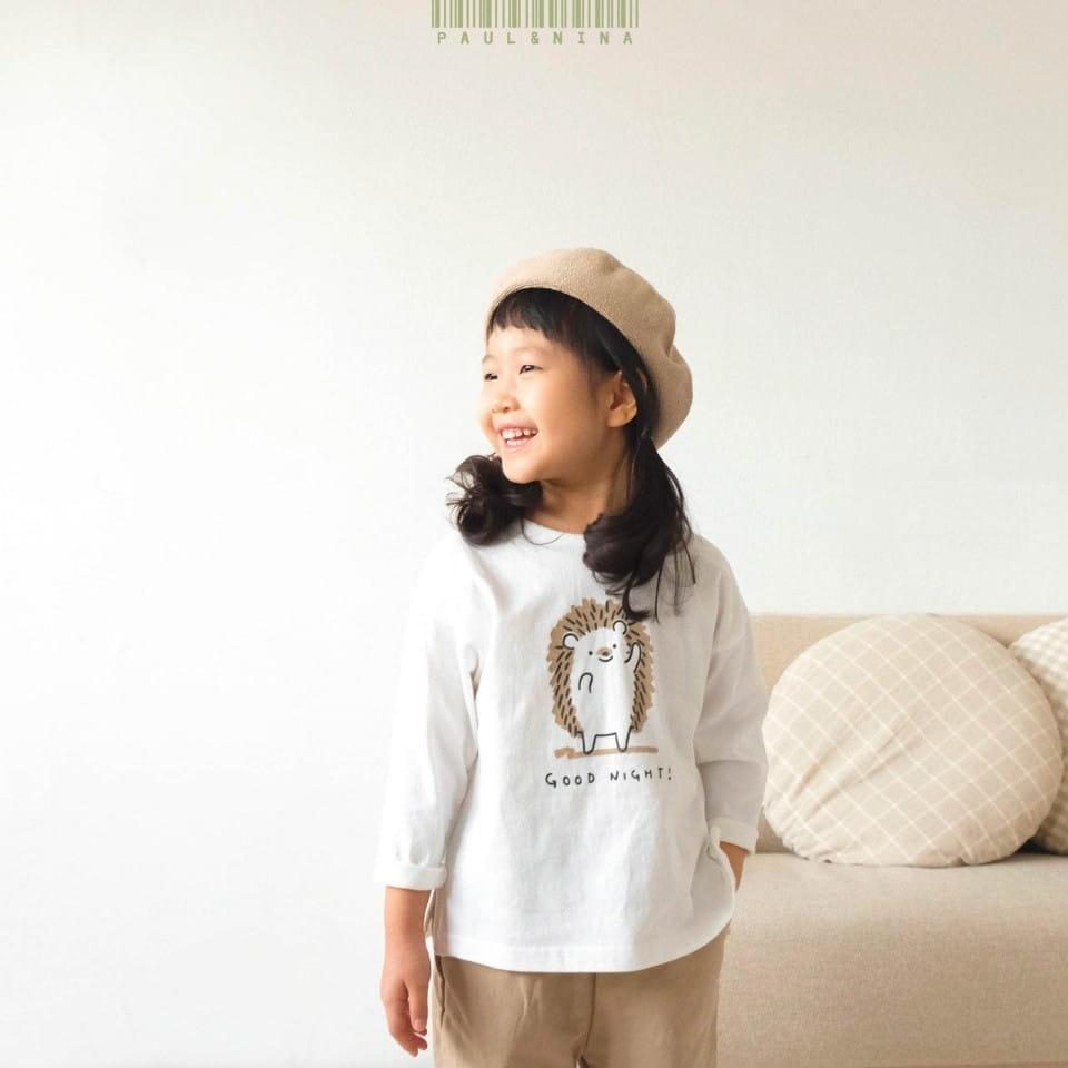 PAUL & NINA - Korean Children Fashion - #Kfashion4kids - Good Night Tee - 5