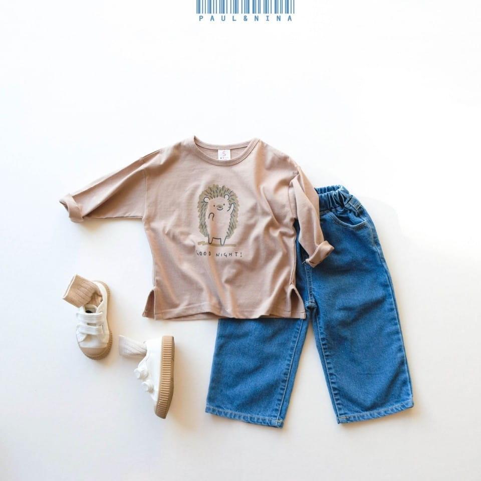 PAUL & NINA - Korean Children Fashion - #Kfashion4kids - Good Night Tee - 9