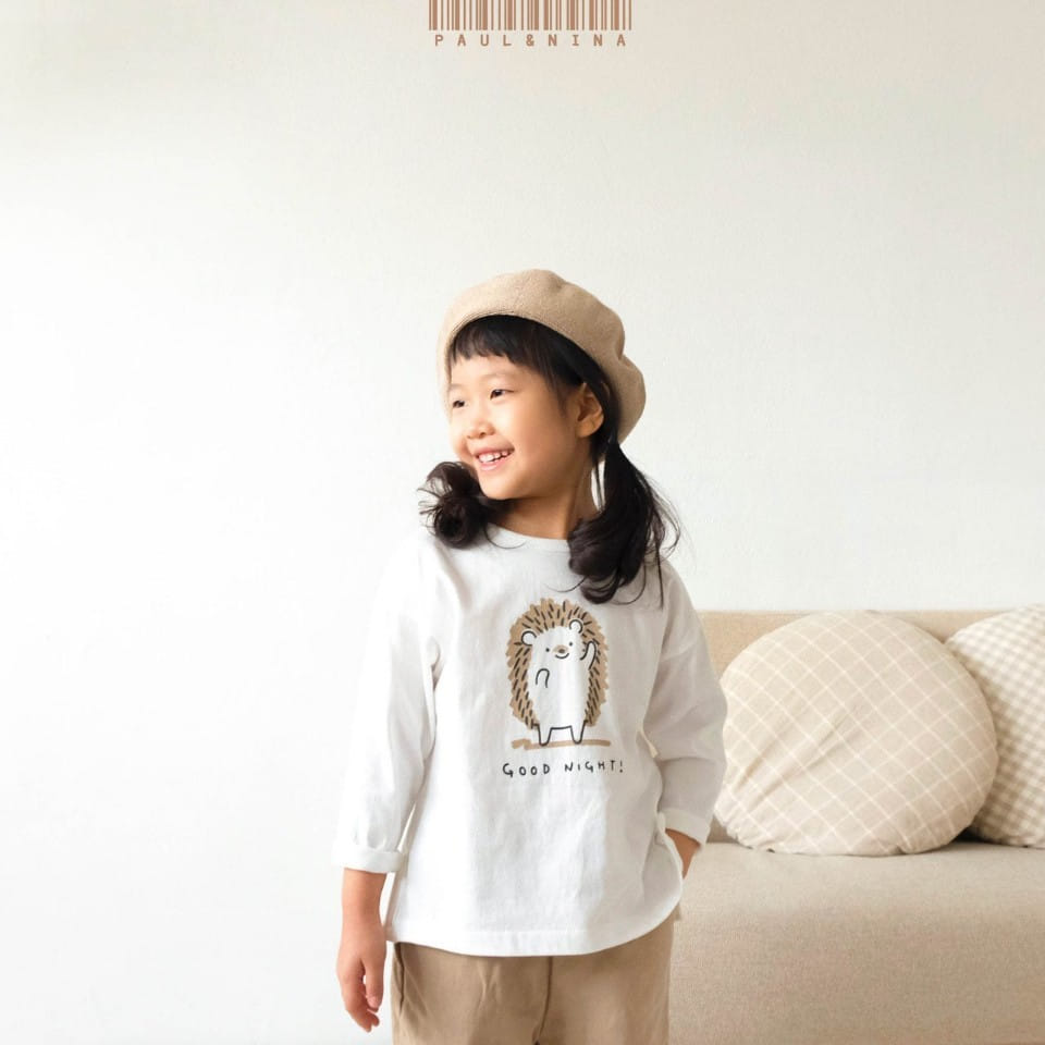 PAUL & NINA - BRAND - Korean Children Fashion - #Kfashion4kids - Good Night Tee