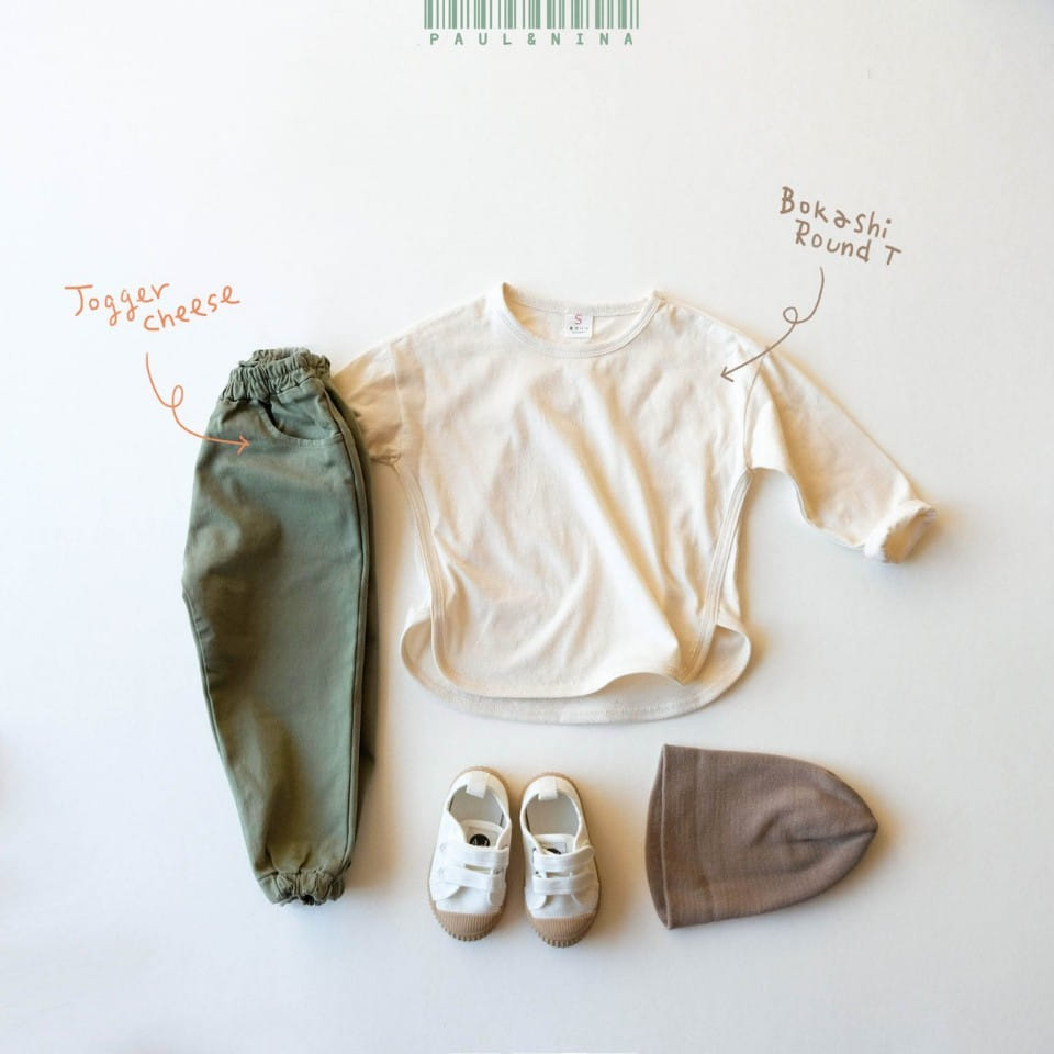 PAUL & NINA - Korean Children Fashion - #Kfashion4kids - Cheese Jogger Pants - 2