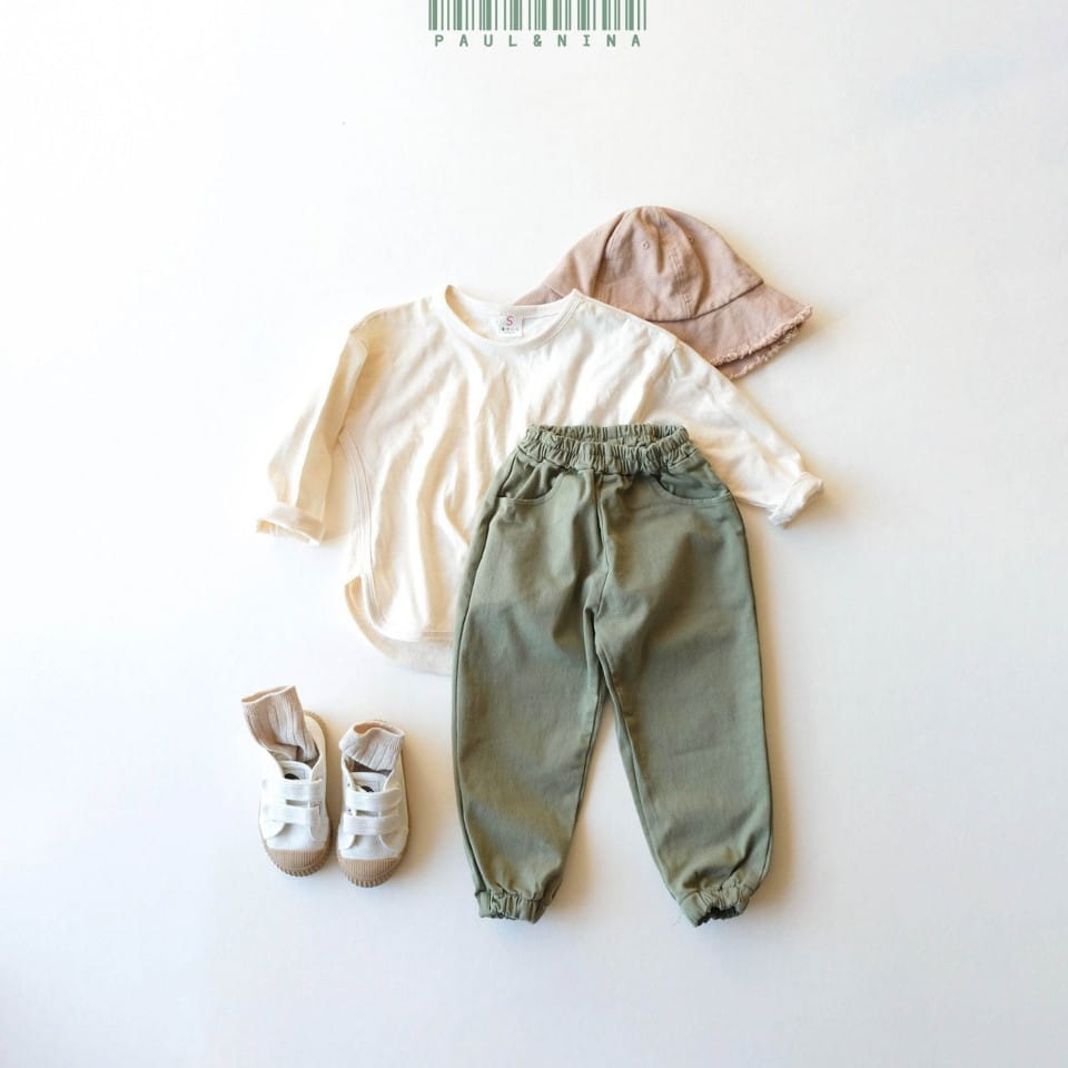 PAUL & NINA - Korean Children Fashion - #Kfashion4kids - Cheese Jogger Pants - 5