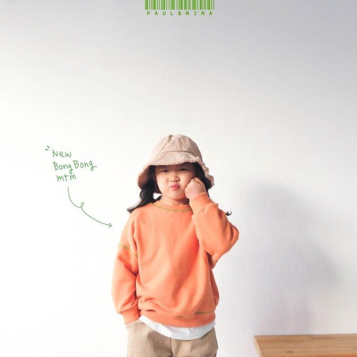 PAUL & NINA - Korean Children Fashion - #Kfashion4kids - New Bongbong Sweatshirt - 9