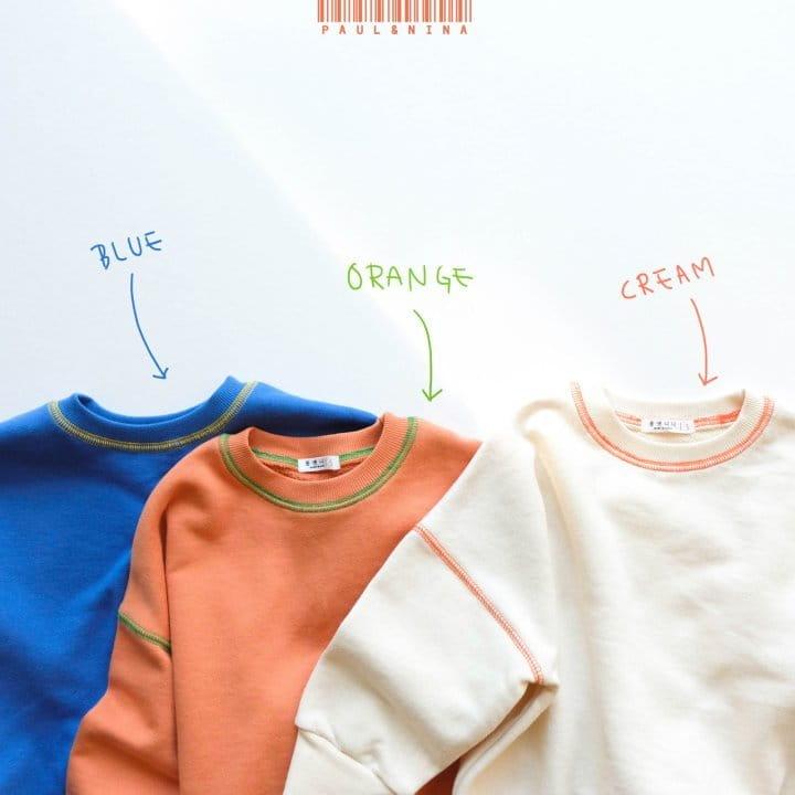 PAUL & NINA - BRAND - Korean Children Fashion - #Kfashion4kids - New Bongbong Sweatshirt