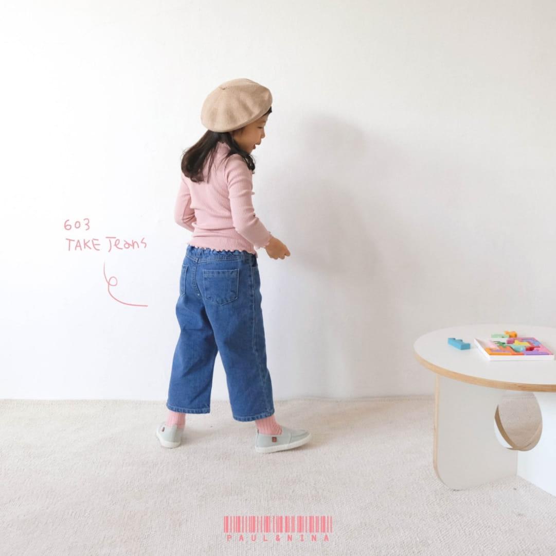 PAUL & NINA - Korean Children Fashion - #Kfashion4kids - 603 Take Jeans - 2