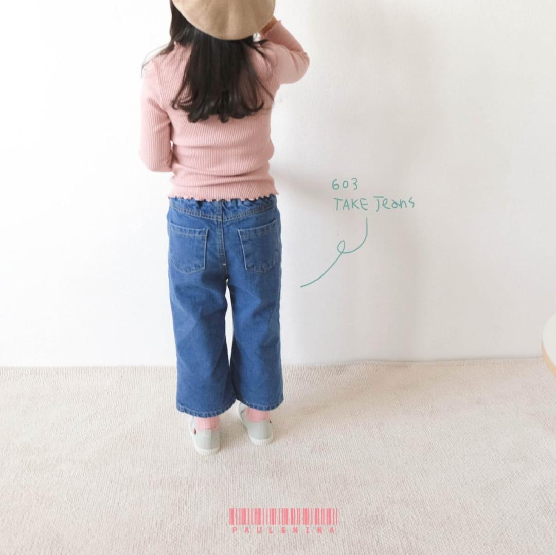 PAUL & NINA - Korean Children Fashion - #Kfashion4kids - 603 Take Jeans - 4