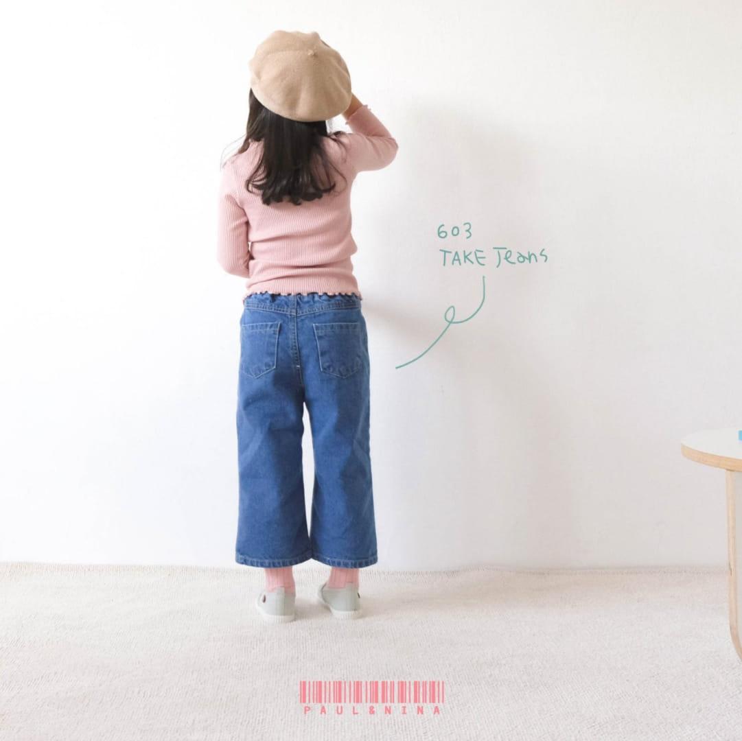 PAUL & NINA - BRAND - Korean Children Fashion - #Kfashion4kids - 603 Take Jeans
