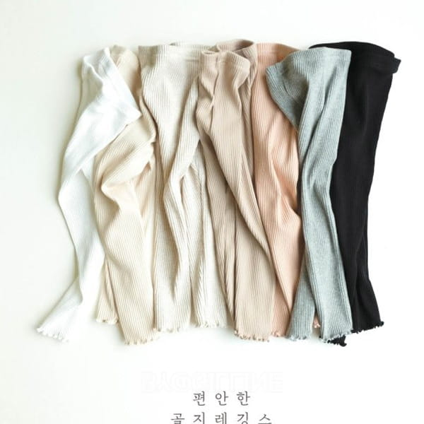 PAUL & NINA - BRAND - Korean Children Fashion - #Kfashion4kids - Comfortable Rip Leggings