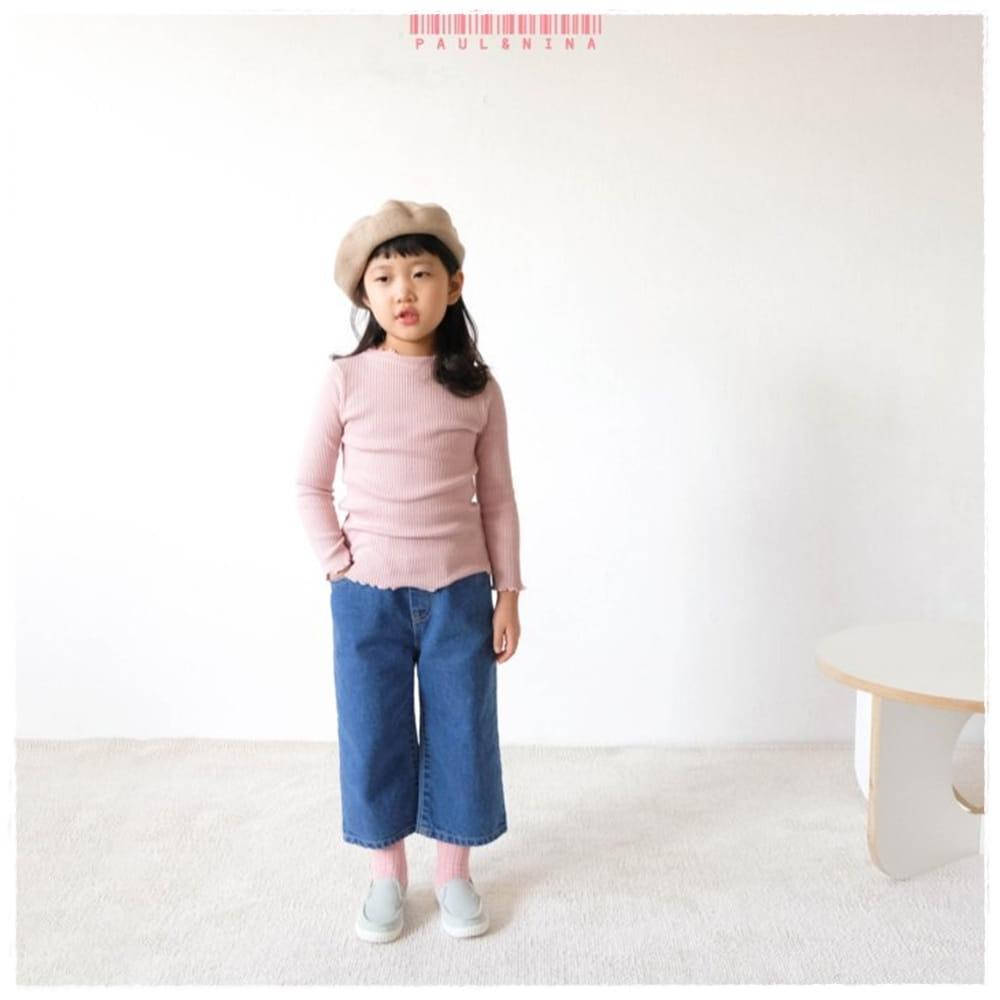 PAUL & NINA - BRAND - Korean Children Fashion - #Kfashion4kids - Spring Rip Tee