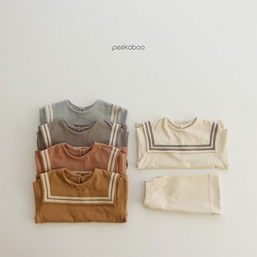 PEEKABOO - BRAND - Korean Children Fashion - #Kfashion4kids - Sailor Easywear