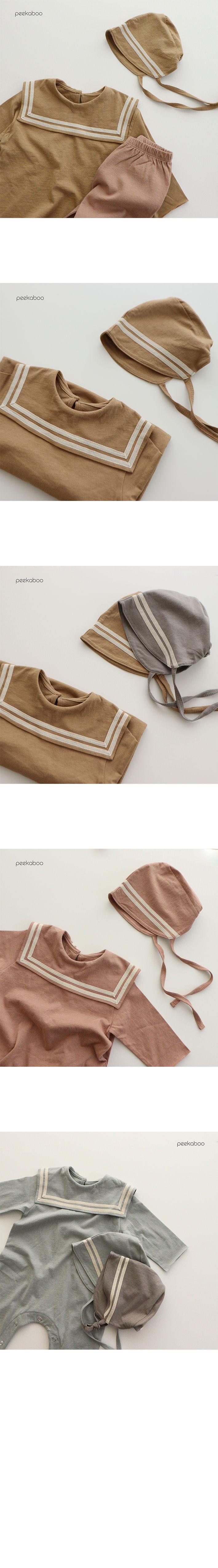 PEEKABOO - Korean Children Fashion - #Kfashion4kids - Sailor Bonnet