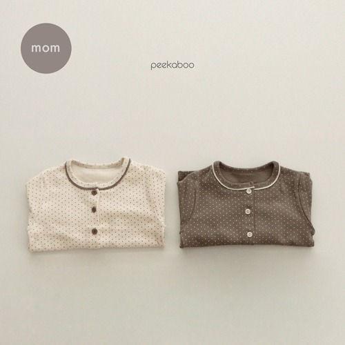 PEEKABOO - BRAND - Korean Children Fashion - #Kfashion4kids - Mom Dot Pajamas
