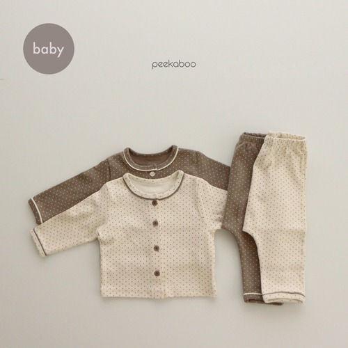 PEEKABOO - BRAND - Korean Children Fashion - #Kfashion4kids - Bebe Dot Easywear