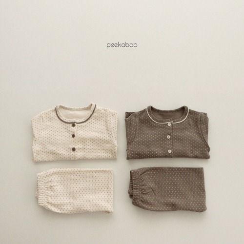 PEEKABOO - BRAND - Korean Children Fashion - #Kfashion4kids - Dot Easywear